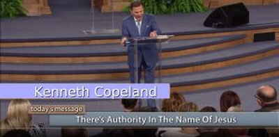There's Authority in the Name of Jesus - Kenneth Copeland (July-12-2018)