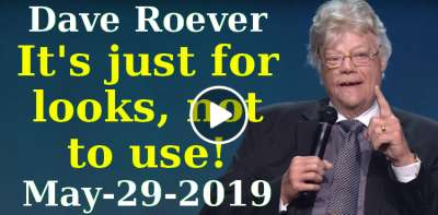 Dave Roever - It's just for looks, not to use! - Robert Morris Ministries(May-29-2019)
