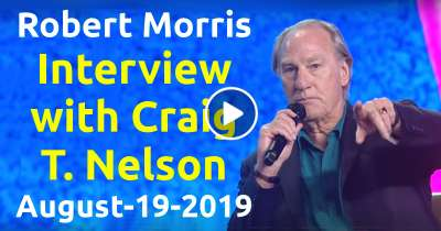Robert Morris – Interview with Craig T. Nelson – Bring A Friend (August-19-2019)