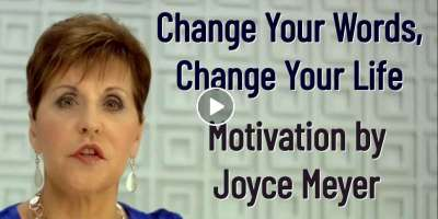 Change Your Words, Change Your Life - Joyce Meyer Motivation (November-11-2019)