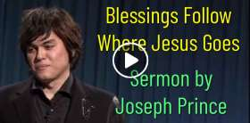 Joseph Prince - Blessings Follow Where Jesus Goes (May-27-2019)