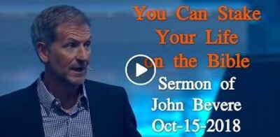 You Can Stake Your Life on the Bible - John Bevere (October-15-2018)