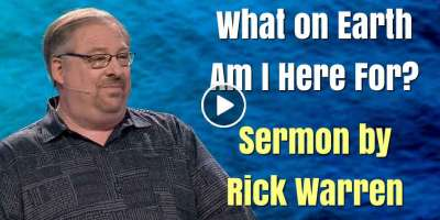 """What on Earth Am I Here For?"" - Rick Warren (January-13-2020)"