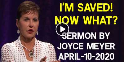 Sunday Sermon of Joyce Meyer - Everyday Answers (December-23-2018) I'm saved! Now what?