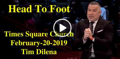 Tim Dilena - Head To Foot - Times Square Church (February-20-2019)
