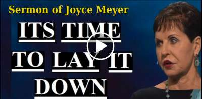 Joyce Meyer - It's Time To Lay It Down (February-19-2019)