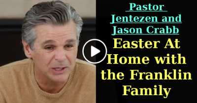 Easter At Home with the Franklin Family | Pastor Jentezen and Jason Crabb (July-11-2020)