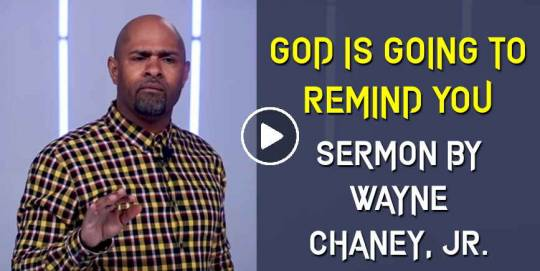 God is Going to Remind You - Wayne Chaney, JR. - Toure Roberts Ministries (April-26-2021)