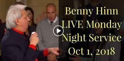 Benny Hinn LIVE Monday Night Service October 1, 2018