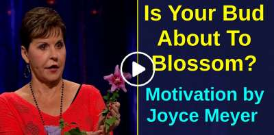 Is Your Bud About To Blossom? - Joyce Meyer Motivation (July-13-2019)