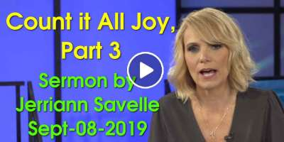 Count it All Joy, Part 3 - Jerriann Savelle (September-08-2019)