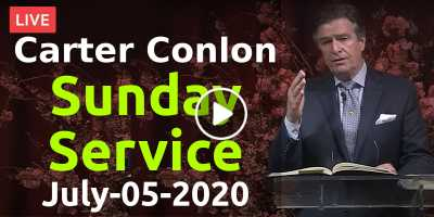 Carter Conlon - Sunday Morning Service in Times Square Church July-05-2020