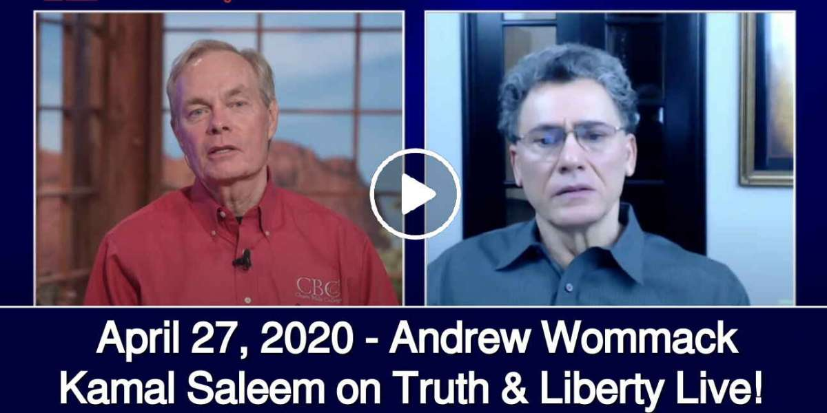 Kamal Saleem on Truth & Liberty Live! - April 27, 2020 - Andrew Wommack Ministries