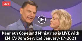 Kenneth Copeland Ministries is LIVE with EMIC's 9am Service! (January-17-2021)
