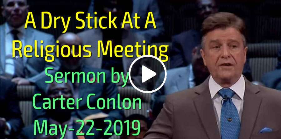 Carter Conlon - A Dry Stick At A Religious Meeting (May-22-2019)