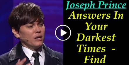 Joseph Prince - Find Answers In Your Darkest Times (February-21-2019)