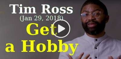 In Conversation with Tim Ross, MarriageToday (January 29, 2018) - Get a Hobby
