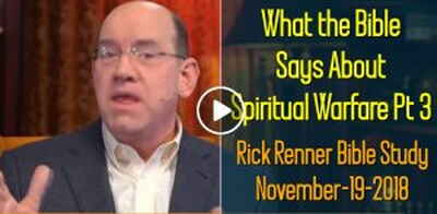 What the Bible Says About Spiritual Warfare Pt 3 - Rick Renner Bible Study (November-19-2018)