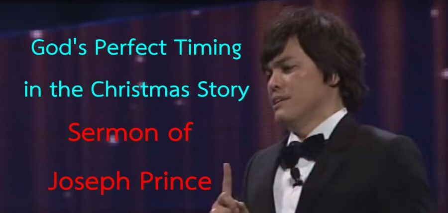 Joseph Prince | 2015 | God's Perfect Timing in the Christmas Story