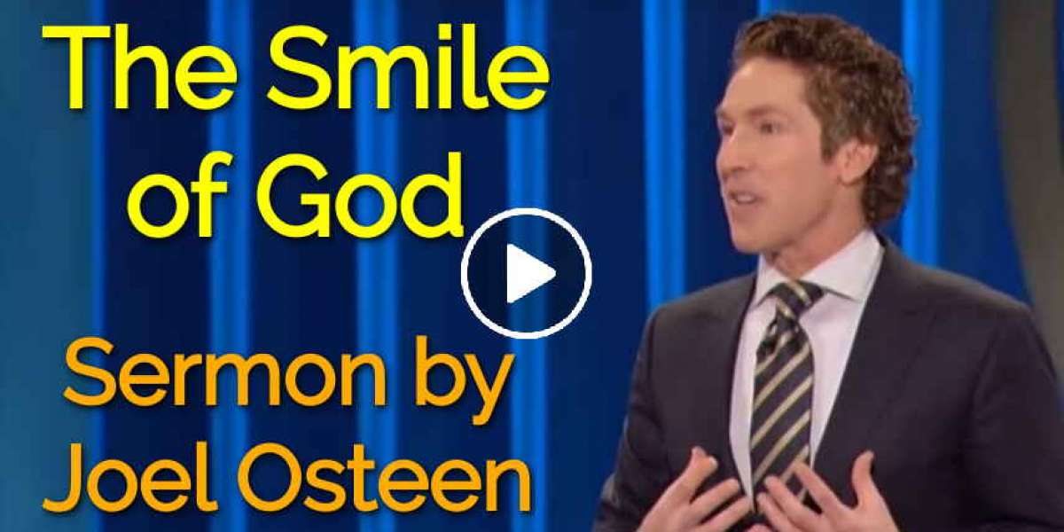 Joel Osteen - The Smile of God -Sunday Servise Sermon (25-Mar-2018)