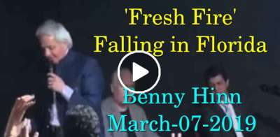 Benny Hinn - 'Fresh Fire' Falling in Florida (March-07-2019)