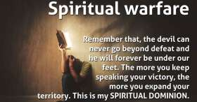 Spiritual Dominion (Part 2) (Spiritual warfare) - Daily Devotional (January-25-2021)
