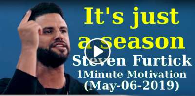 It's just a season - Steven Furtick 1Minute Motivation (May-06-2019)