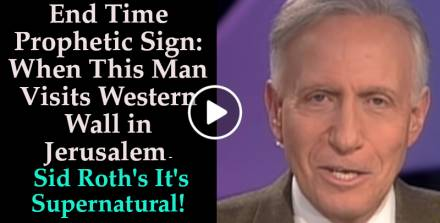 End Time Prophetic Sign: When This Man Visits Western Wall in Jerusalem - Sid Roth's It's Supernatural! (September-20-2019)