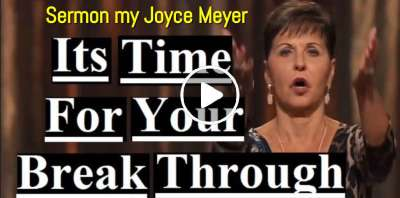 Joyce Meyer - Its Time For Your Break Through (April-09-2019)