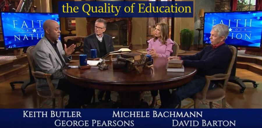 Roundtable Discussion on the Quality of Education in the U.S. 5 Feb. 2018 - Keith Butler, David Barton, Michele Bachmann, George Pearson