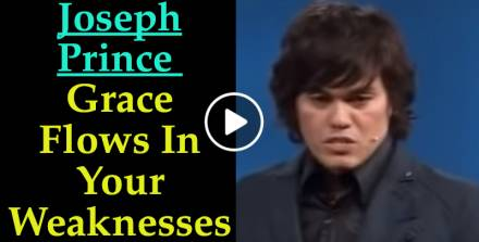 Joseph Prince (04 Dec 11) - Grace Flows In Your Weaknesses