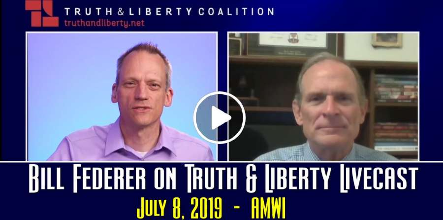 Bill Federer on Truth & Liberty Livecast - July 8, 2019 - Andrew Wommack