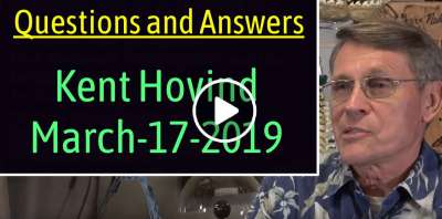 Kent Hovind - Questions and Answers (March-17-2019)