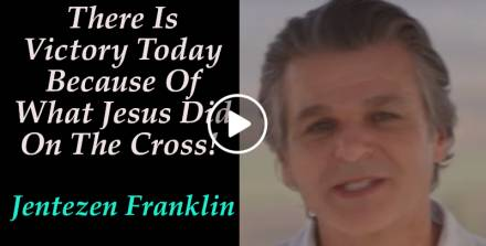 There Is Victory Today Because Of What Jesus Did On The Cross! - Jentezen Franklin (January 16, 2019)