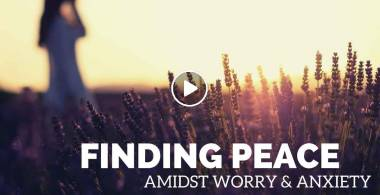 FINDING PEACE AMIDST WORRY & ANXIETY | Put It In God's Hands - Motivation