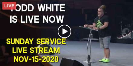 Todd White is live now - Sunday Service Live Stream (November-15-2020)