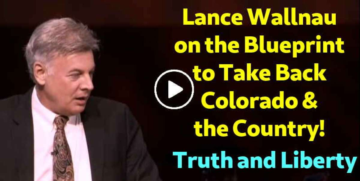 Lance Wallnau on the Blueprint to Take Back Colorado & the Country! - Andrew Wommack (December-23-2019)
