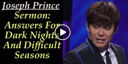 Joseph Prince - Answers For Dark Nights And Difficult Seasons (August-22-2019)