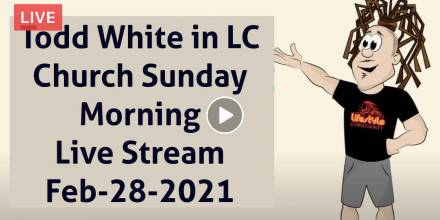 Todd White in LC Church Sunday Morning - Live Stream (February-28-2021)