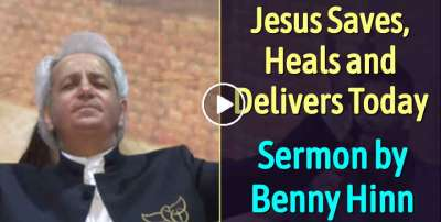 Jesus Saves, Heals and Delivers - Benny Hinn (March 5, 2019)
