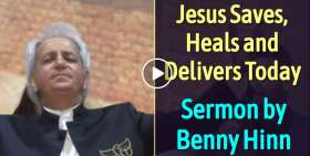 Jesus Saves, Heals and Delivers - Benny Hinn (November-13-2019)