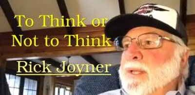 To Think or Not to Think - Rick Joyner (08-08-2018)