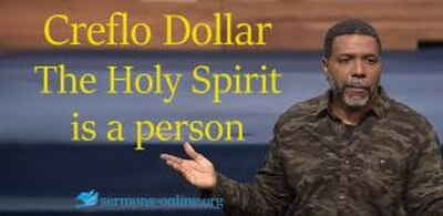 Creflo Dollar Live Stream The ministry of the Holy Spirit Part 2. The Holy Spirit is a person
