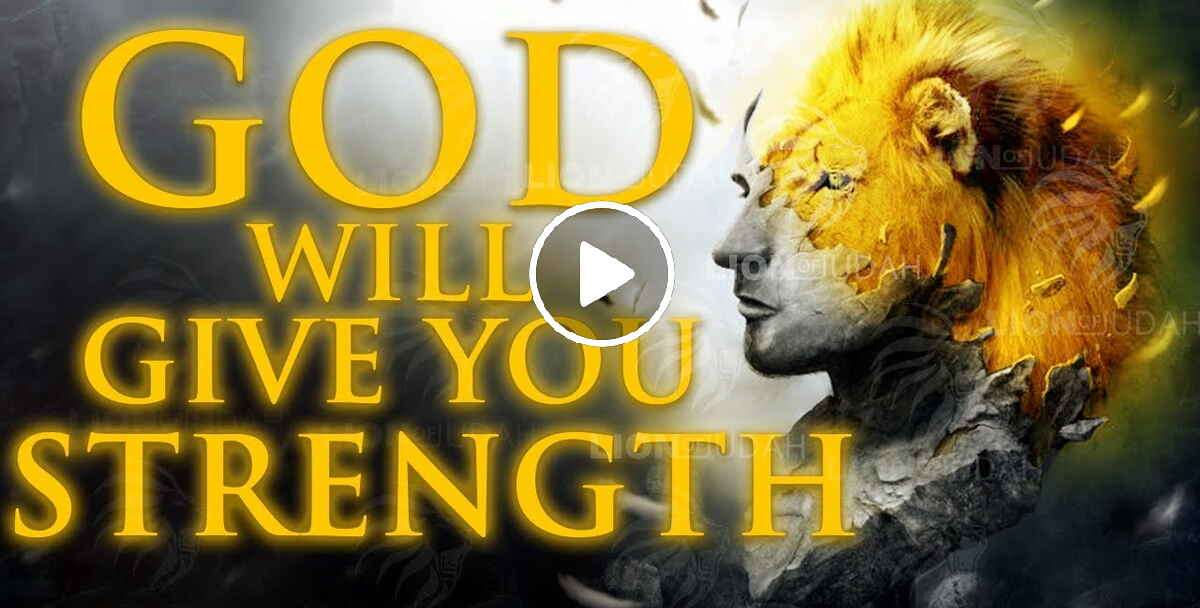 DON'T GIVE UP | God Will Give Your Strength - Christian Motivation