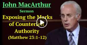 Exposing the Marks of Counterfeit Authority (Matthew 23:1-12) (November-27-2020)