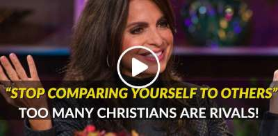 Stop Comparing Yourself To Others - Lisa Bevere (April-01-2019)