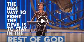 Stay In The Rest of God - Joyce Meyer (January-21-2021)