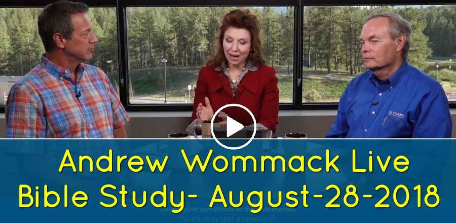 Andrew Wommack Live Bible Study - August-28-2018