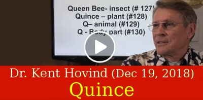 Dr. Kent Hovind (December-19-2018) - Quince - Creation that Destroys Evolution!