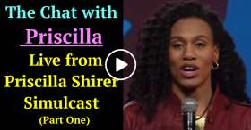 Live from Priscilla Shirer Simulcast | The Chat with Priscilla (Part One) (November-27-2020)